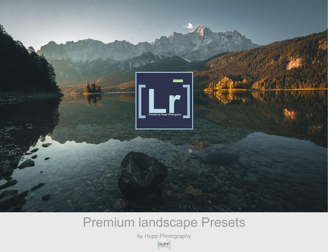 Lightroom Presets Landschaftsfotografie kaufen, Eibsee fotografieren