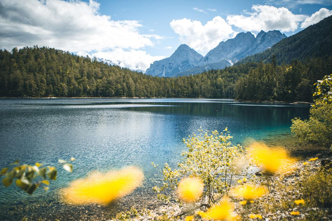 die schönsten Seen für Fotografen in Deutschland, Eibsee-Alternative der Blindsee