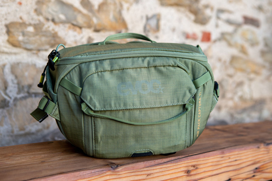 Test Evoc Hip pack capture 7L Hüfttasche von EVOC - pictures magazine