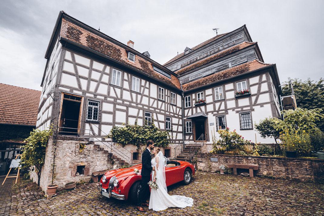 Hochzeit in der Papierscheune Homburg