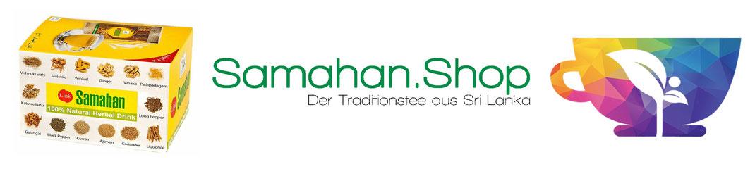 SamahanShop Logo mit Samahan Tee Box