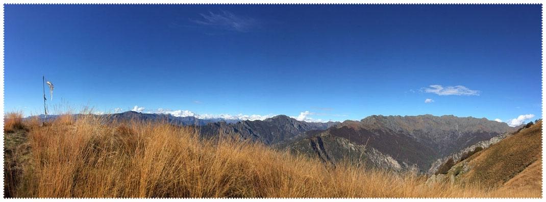 Die Gipfel vom Val Grande