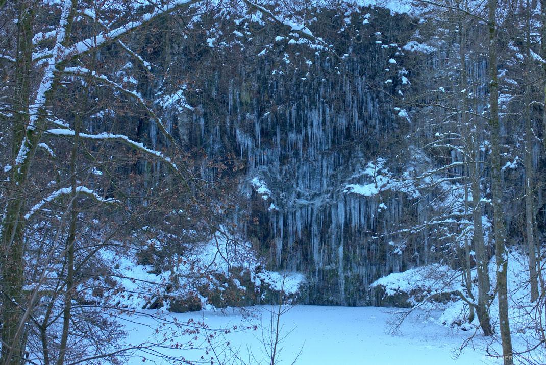 Eiswasserfälle Bacher Lay