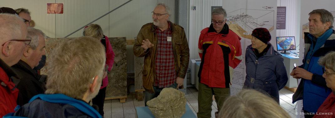 Führen Tim Lahn-Marmor-Museum in Villmar