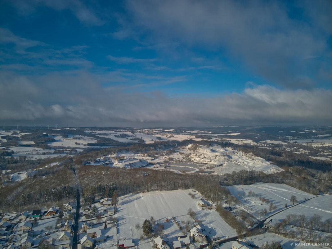 Stöffel-Park aus der Luft