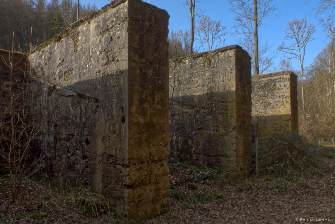 Ruinen Pulverfabrik Elisenthal