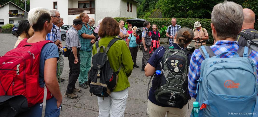 Tourstart in Isenburg