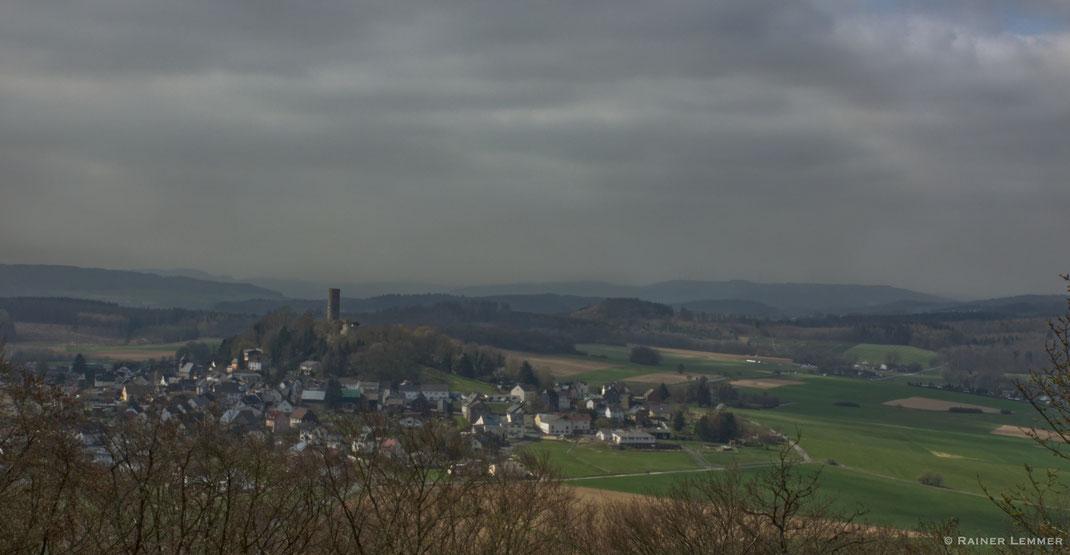 Merenberg und die Burgruine Merenberg
