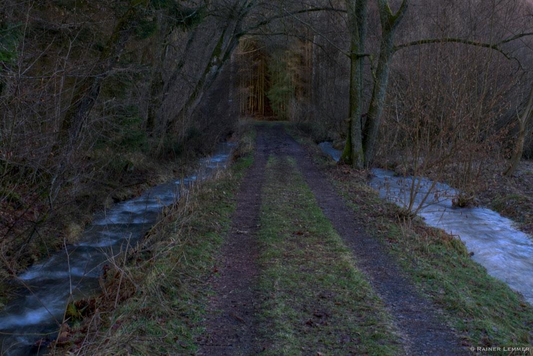 Brücke über den Holzbach in der Holzbachschlucht