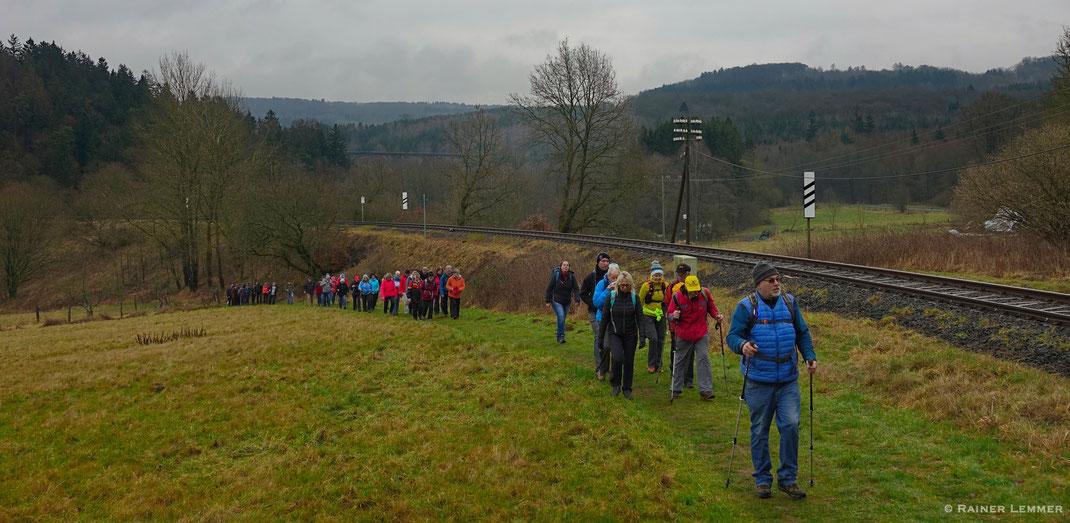 6. RZ Winterwandertag rund um den Stöffel-Park