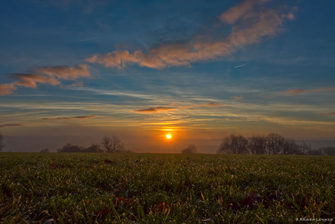 Sonnenaufgang in Brandscheid