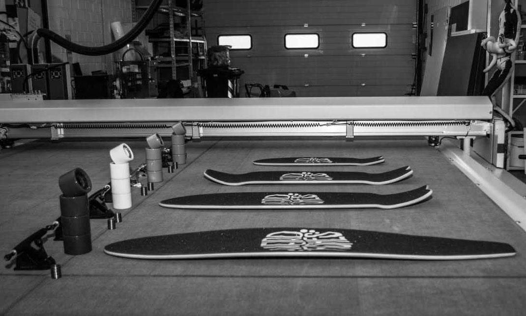 Dimensioni e forma per scelta longboard