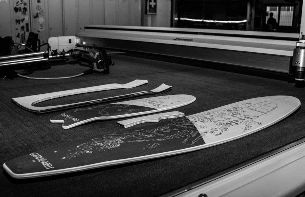 Profilo deck per scegliere la longboard