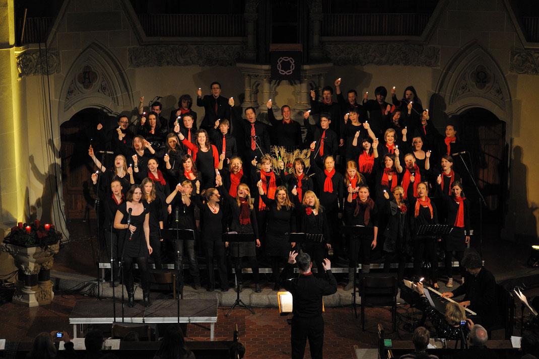 Popchor Mannheim beim Christmas Concert Mannheim