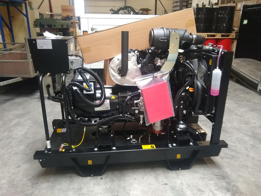 Liebe Kunden, im Moment können wir Ihnen kurzfristig ein Stromaggregat mit 40 kVA und Abgasstufe V anbieten. Bei Interesse können Sie sich gerne bei uns melden!