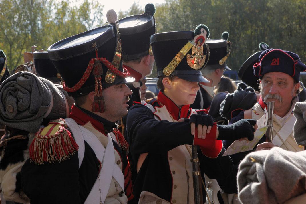 21ème Règiment de Ligne französiche Infanterie NAPOLEON 21ème Règiment de Ligne Reenactment Napoleonic Napoleonik