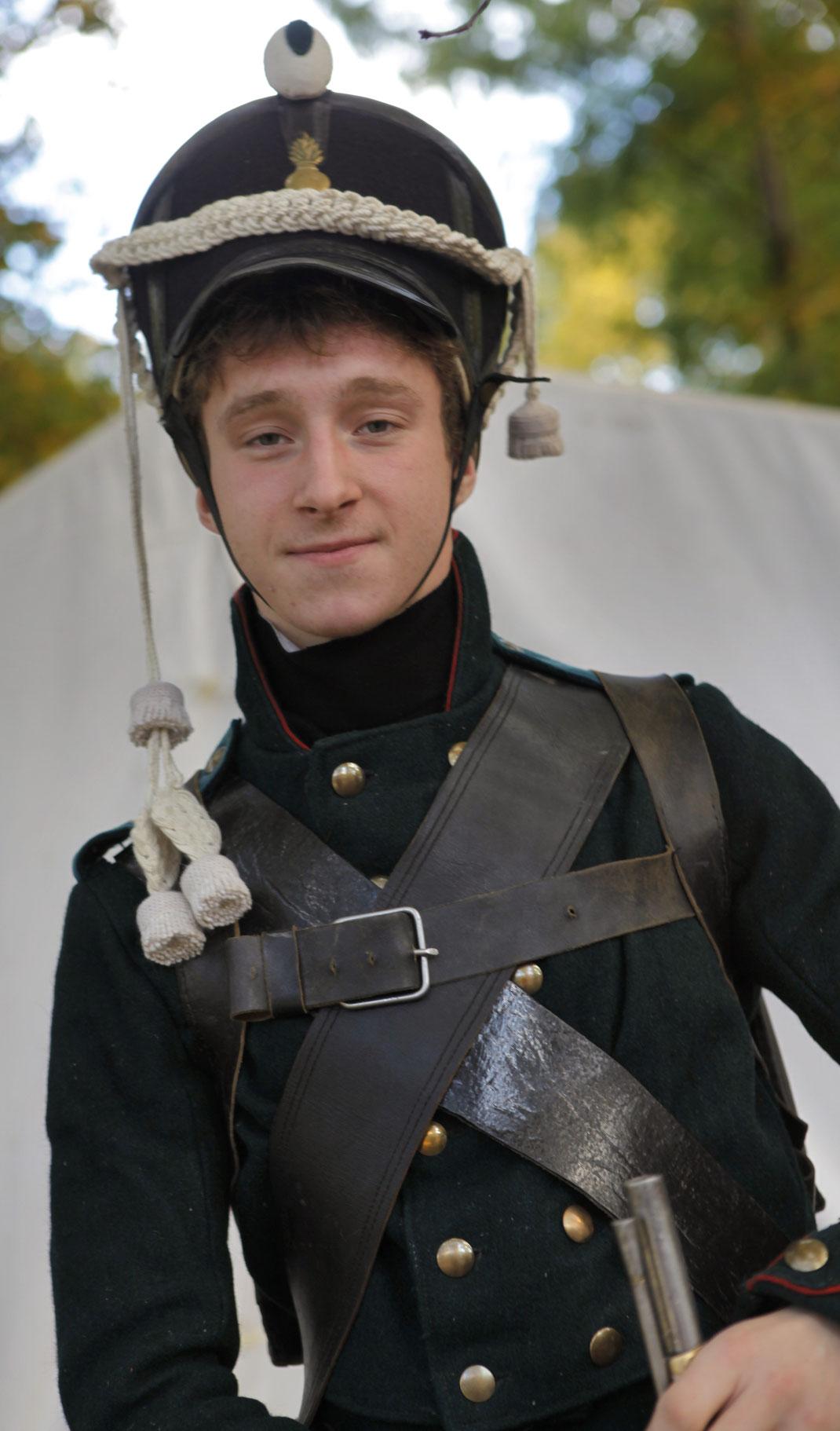 Russischer Grenadier Leipzig 1813 2013