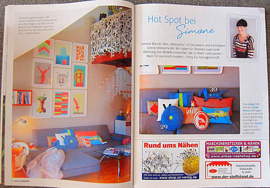 Sabrina Nähen Magazin 2014