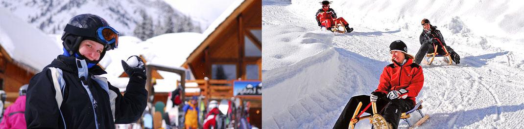Rodelbahn Hocheck und Skigebiet Hocheck, Oberaudorf