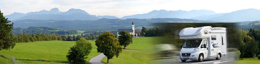 Wohnmobilstellplätze Bayern Bauernhof in Oberaudorf