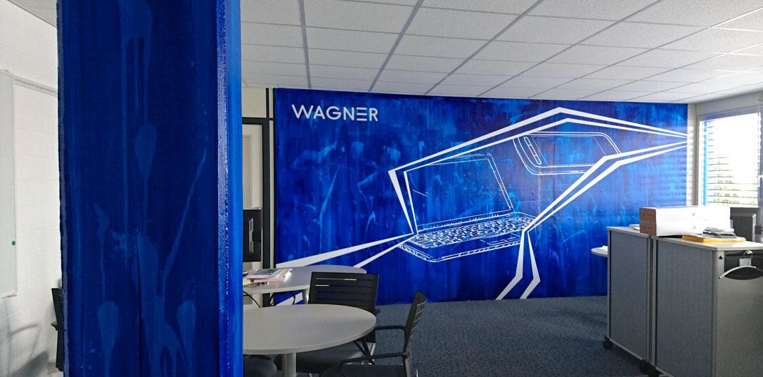 Wandgestaltung b ro wagner ag agentur f r wand for Format 41 raumgestaltung ag