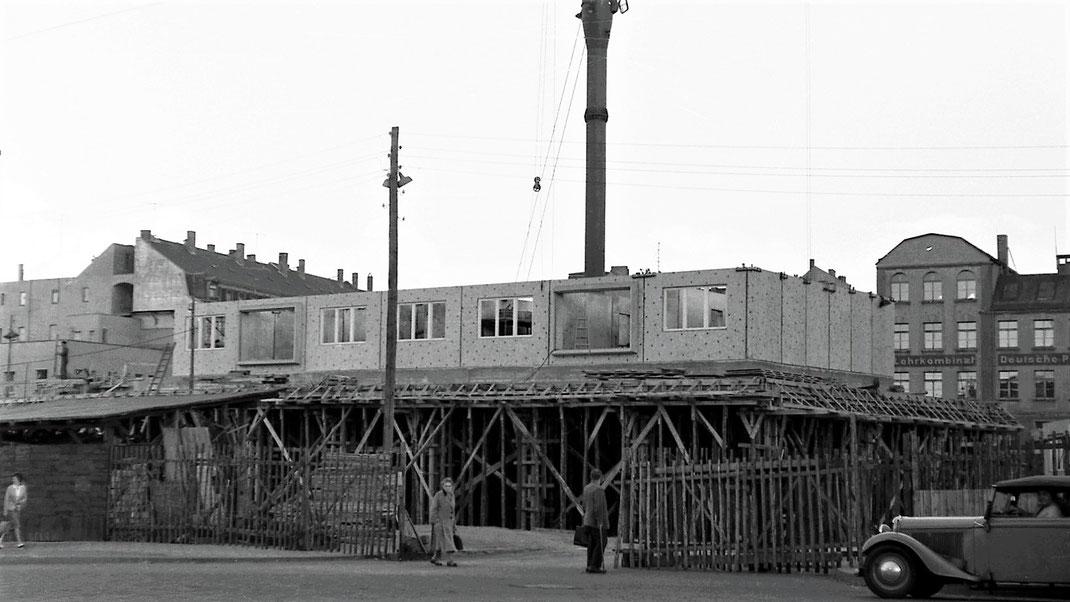 Fotografen bewahren Augenblicke des Wandels, Leipzig, 1961, © fotothek-mai.de | Karl Heinz Mai