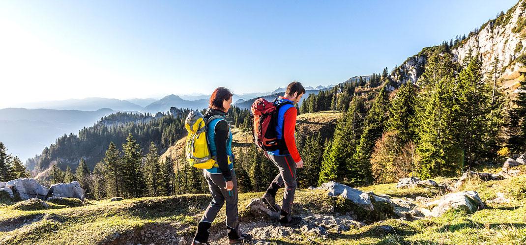 Wandern rund um den Campingplatz in Bad Feilnbach