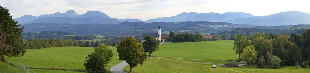 Camping in Bayern, Kaiser Camping, Bad Feilnbach