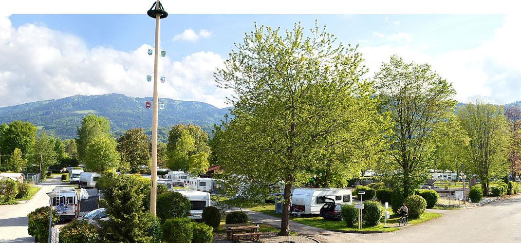 Urlaub auf dem Campingplatz in Bad Feilnbach in Bayern, Kaiser Camping