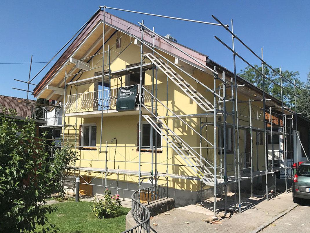 Einfamilienhaus Sanierung  ©2019 Welte Architektur