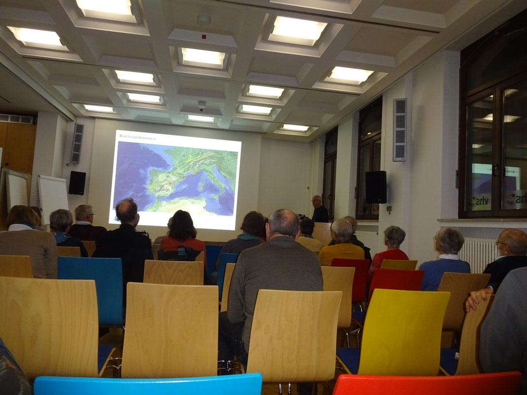 Vortrag von Dr. Andreas von Lindeiner in der VHS Aschaffenburg