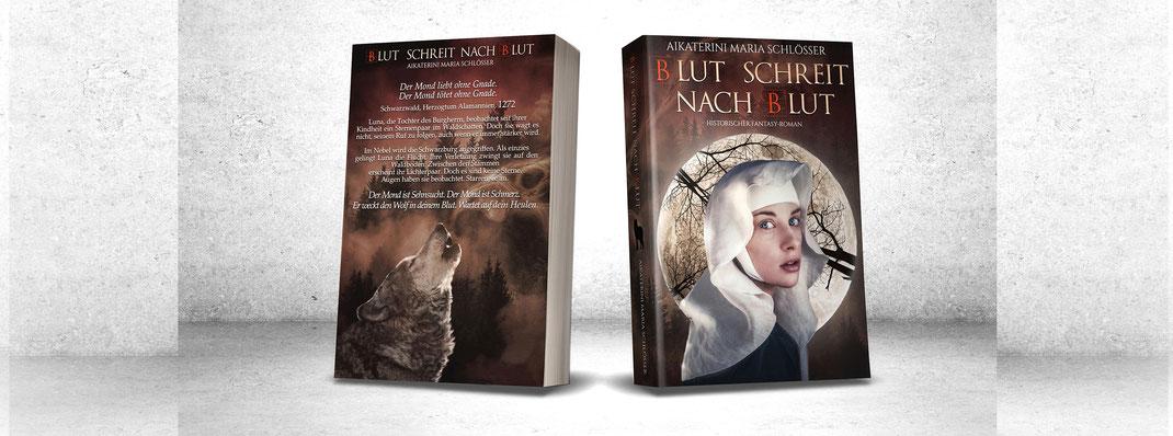 Mittelalter mittelalterlich historisch historischer roman wolf wölfe fantasy fantasyroman bestseller deutschland aikaterini maria schlösser autorin selfpublisher