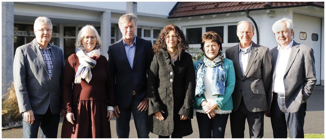 Das Hubert-Steinmann-Team 2011 mit Siegfried Bühler, Gudrun Stolz, Hubert Steinmann, Astrid Funk, Ingrid Veit, Walter Knoll und Werner Gaiser (von links nach rechts)