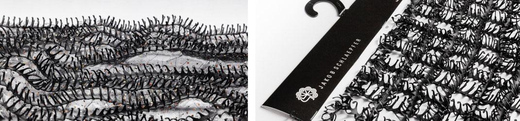Fahrradschläuche, bike tubes, tät-tat, haute Couture, Fashion, runway, sustainable, switzerland, St.Gallen, Textile