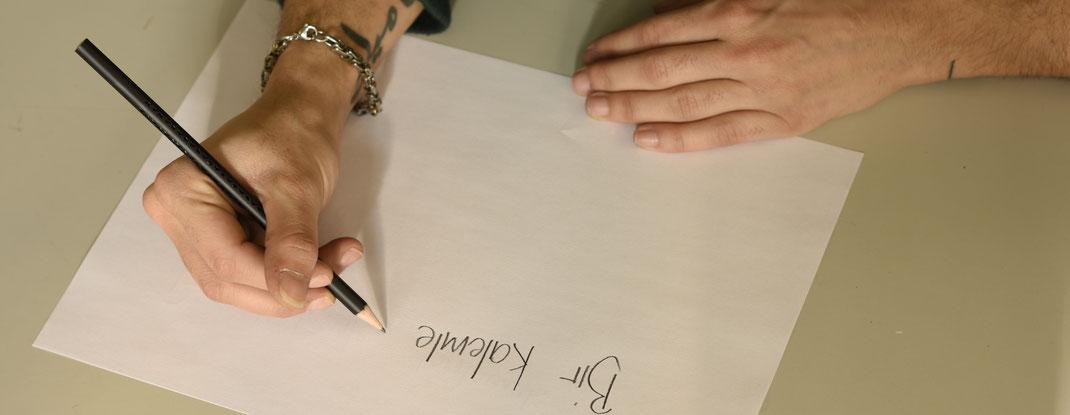 Bleistift, ornamental, Türkei, schreiben