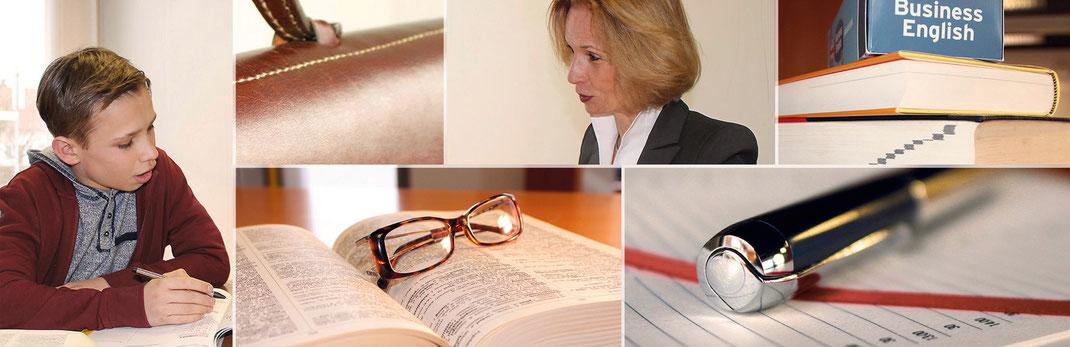 Nachhilfe-Lehrerin,  Sprachunterricht Englisch, Sprachunterricht Französisch, beeidigte Urkunden-Übersetzungen, Übersetzungen, Übersetzungen Französisch Englisch Deutsch