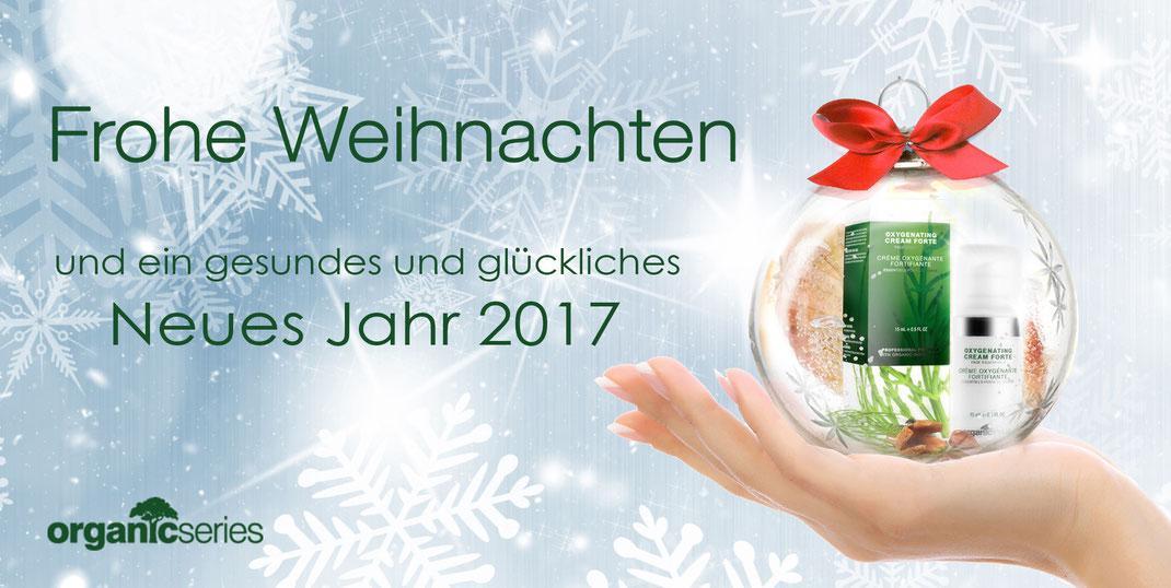 Weihnachten natural organic cosmetik - premium Naturkosmetik bio und vegan für jeden Hauttyp