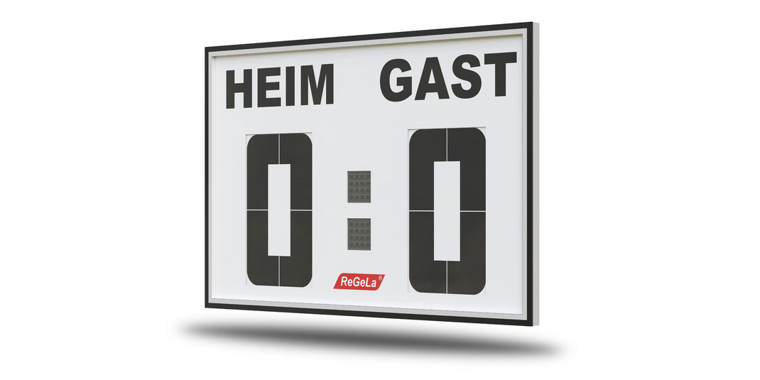 Solar Resultatanzeige FA 400/2 - Fussballanzeige - Sport Anzeigetafel - Spielstandanzeigetafel