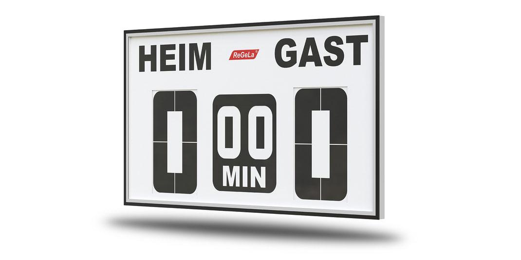 Solar Resultatanzeige FAS 400/2 - Fussballanzeige - Sport Anzeigetafel - Spielstandanzeigetafel