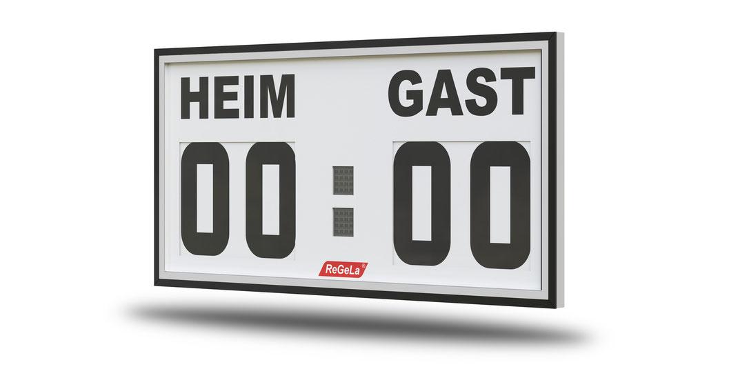 Solar Resultatanzeige FA 100/4 - Fussballanzeige - Sport Anzeigetafel - Spielstandanzeigetafel