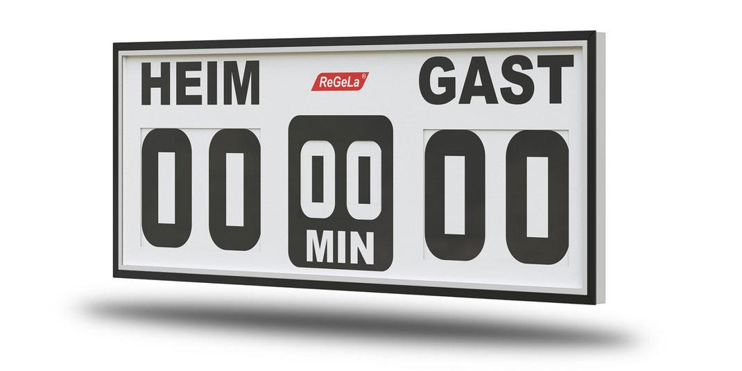Solar Resultatanzeige FAS 100/4 - Fussballanzeige - Sport Anzeigetafel - Spielstandanzeigetafel