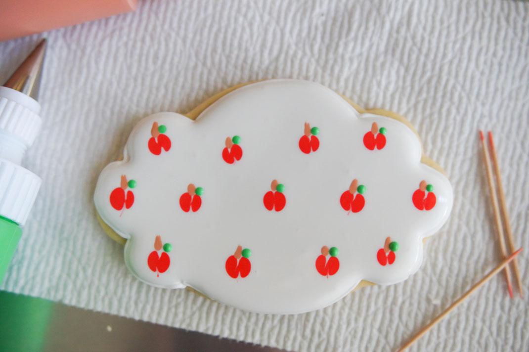 Apple Back to School Sugar Cookies
