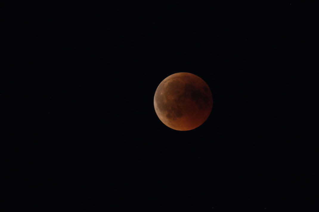 Volle Mondfinsternis