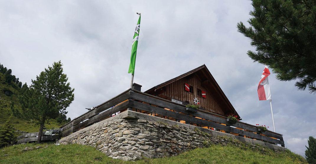 ALMTAGE auf der Peter Anich Hütte 19. bis 21 August 2019