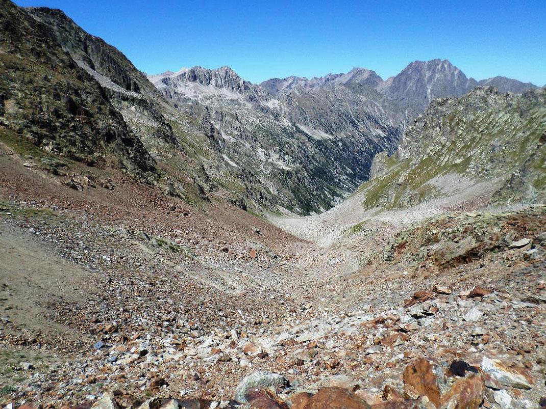L'Italie, vue du col de Cerise