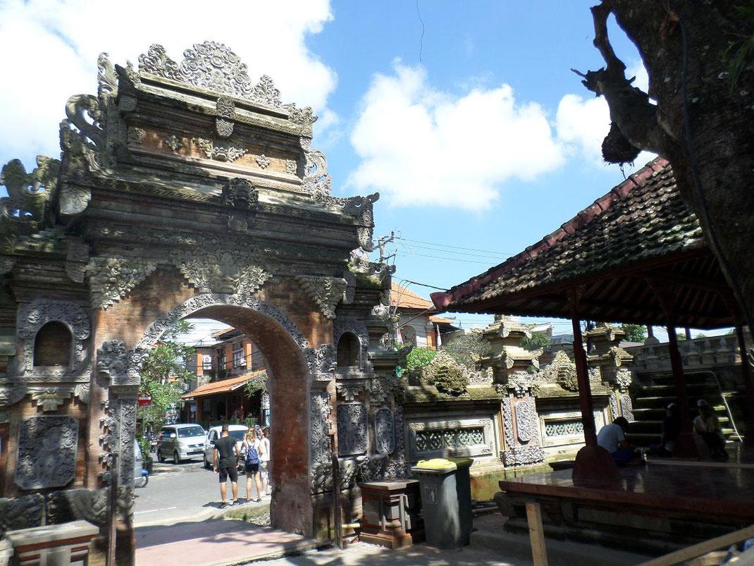 La port d'entrée du palais