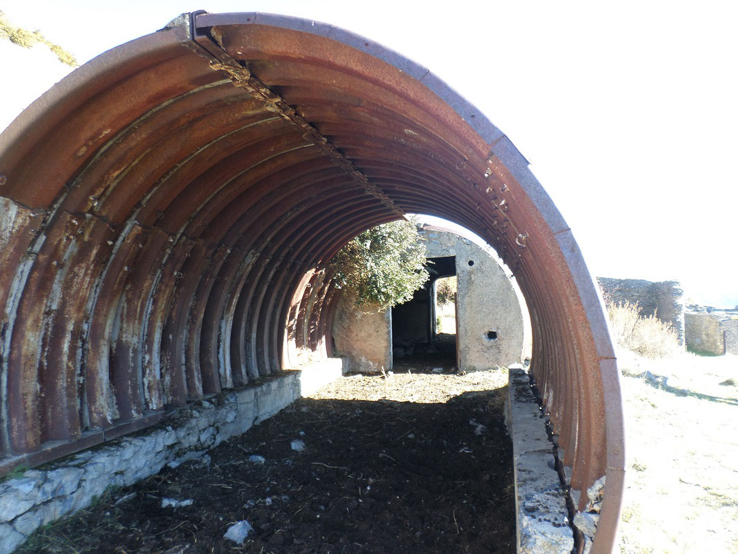 Un des restes de bmockhaus du Conquet