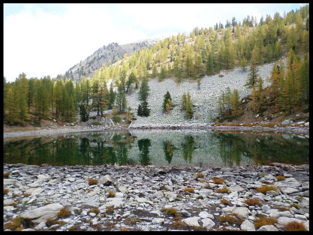 Lac Scluos en automne