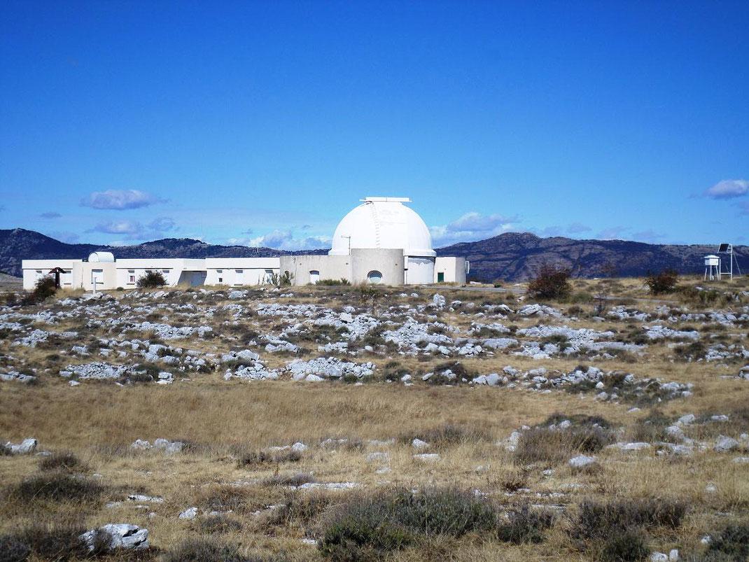 Un des bâtiments de l'observatoire