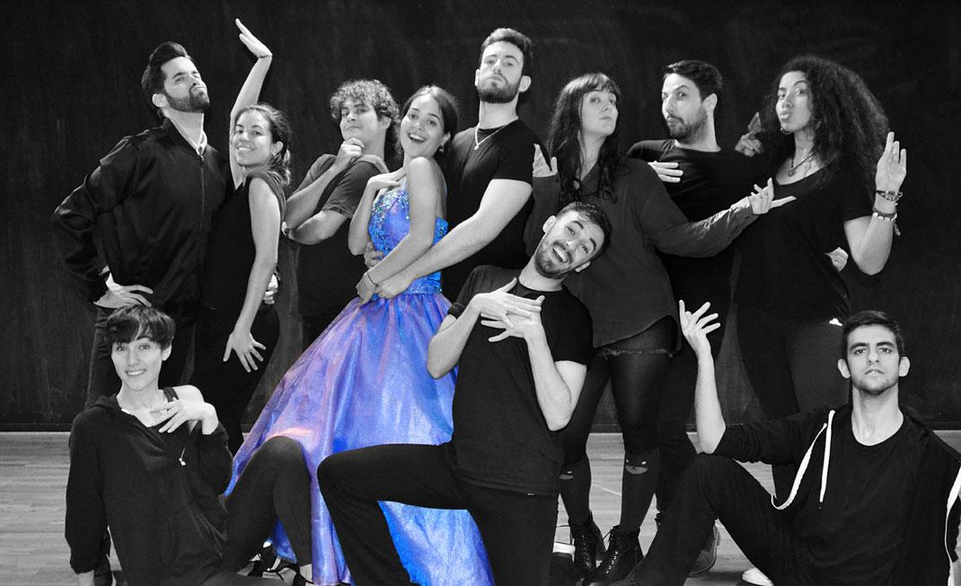 Elenco de Cenicienta, el Gran Show Musical. 24 y 25 de Febrero, 3 y 10 de Marzo. Madrid 2018. Teatro infantil.